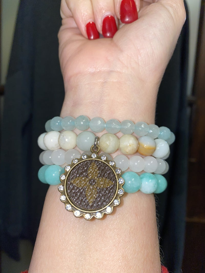 Upcycled Of The Heart Stack Stones