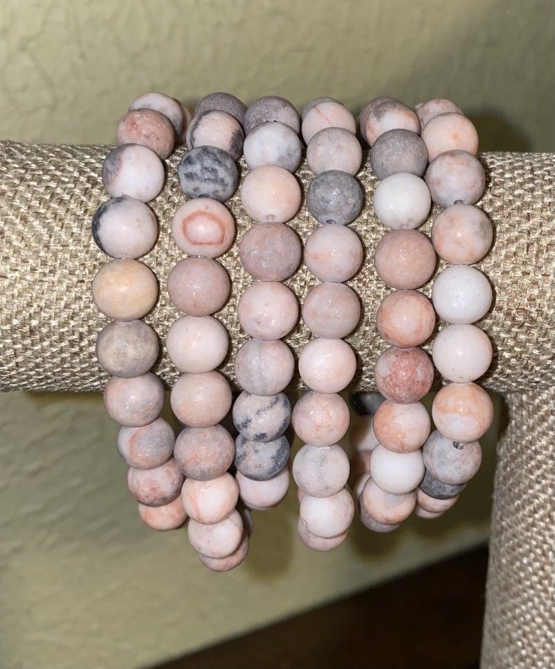 B3 Healing Stone Pink Zebra Jasper
