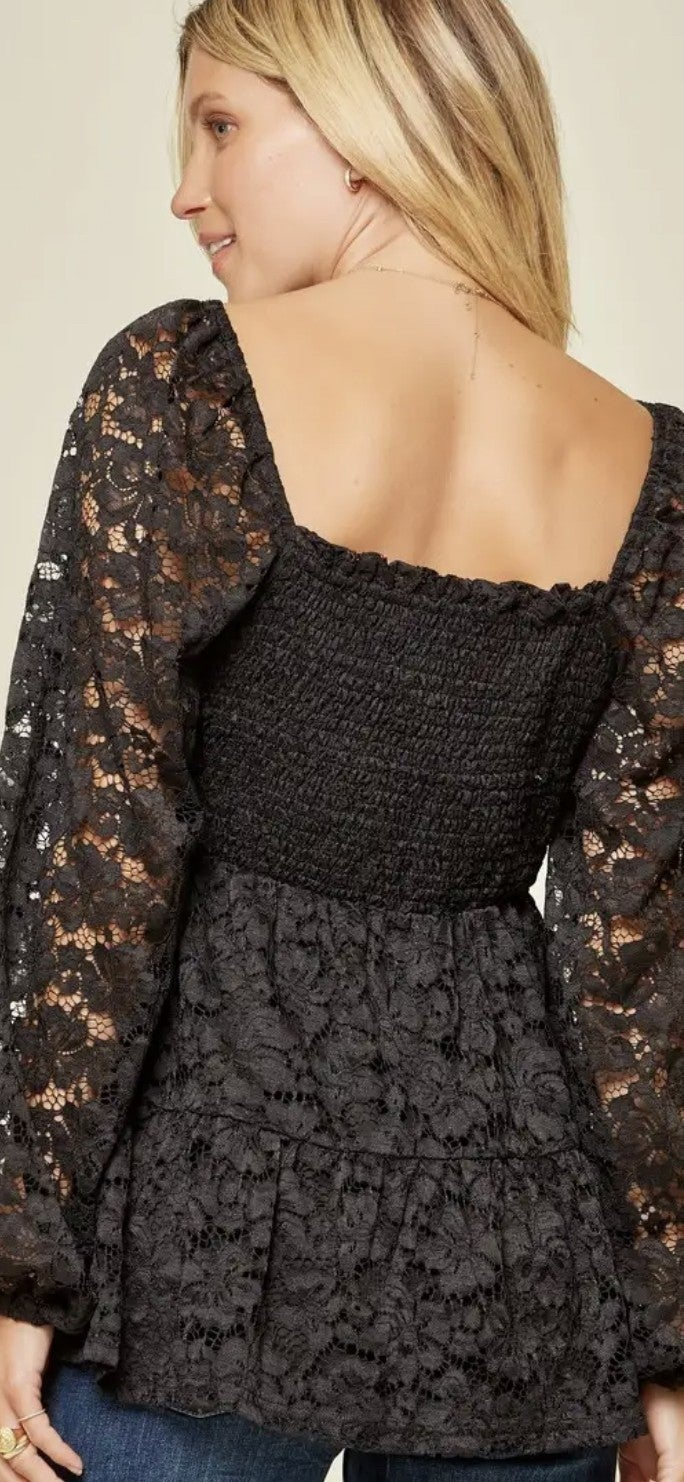 Romancing the Lace Top