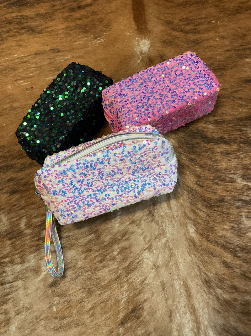 Make up bag/ wristlet