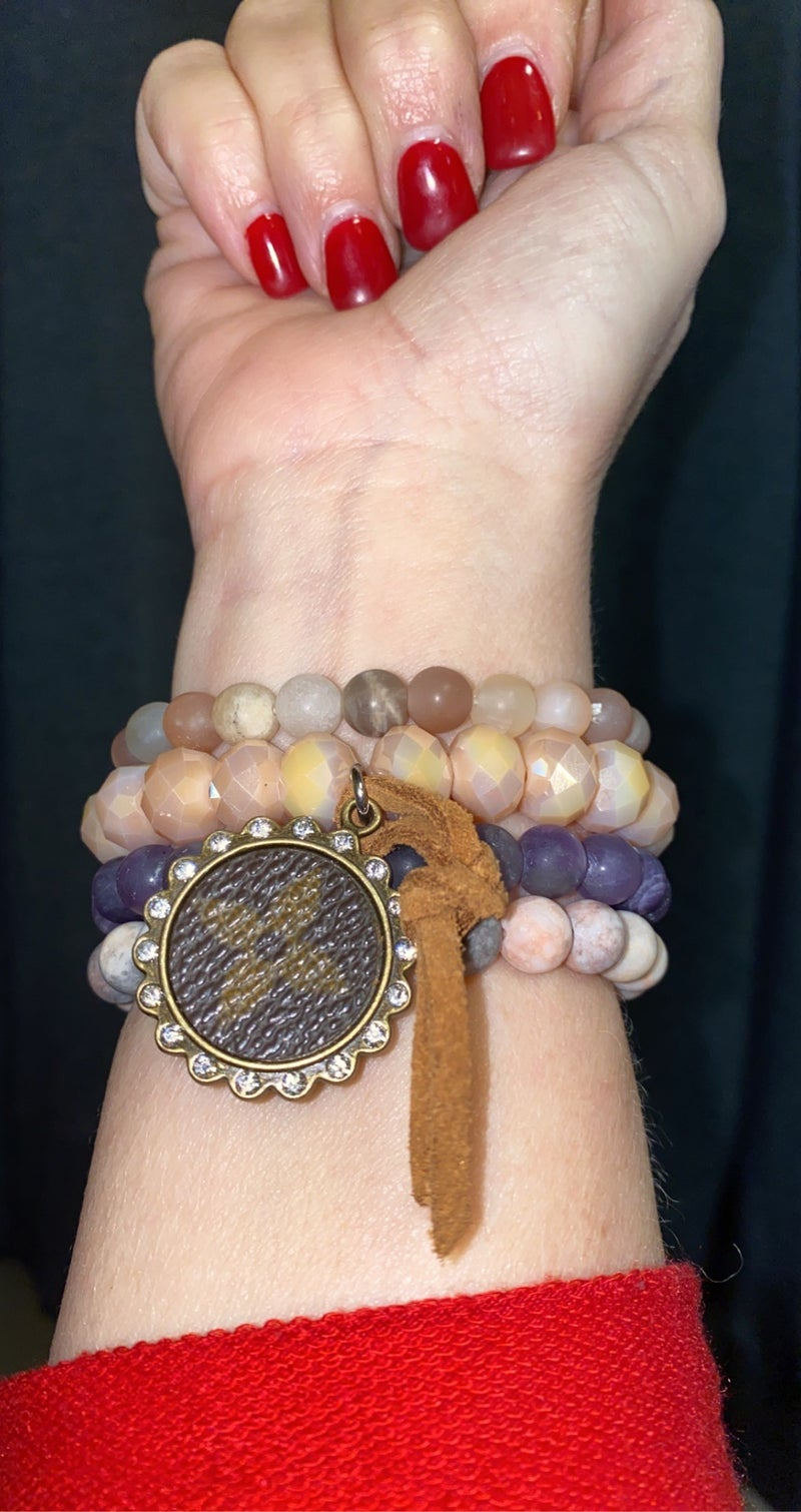 Upcycled Comfort Stack Healing Stones