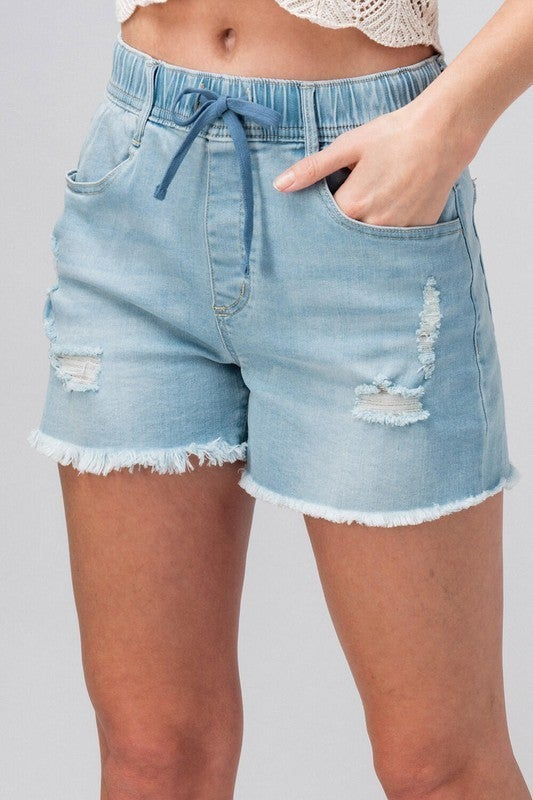 Comfy and Cute Denim Shorts *Final Sale*