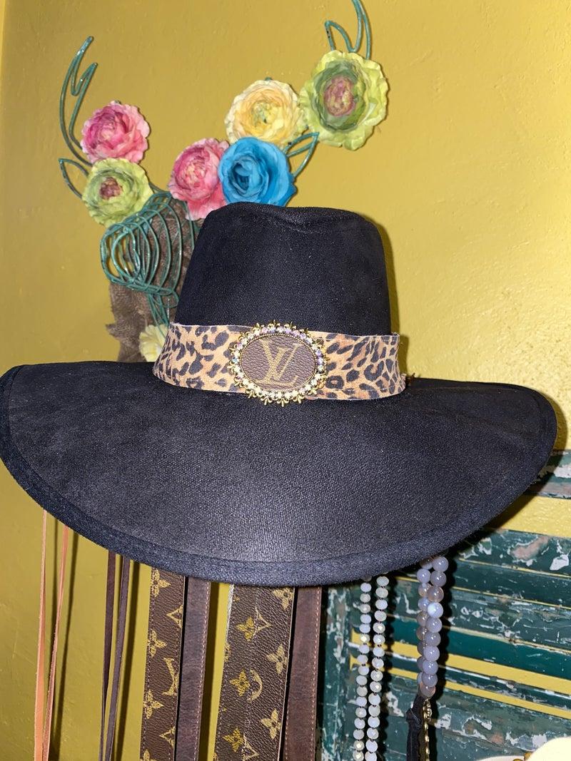 Antique Upcycled Hatband/Choker