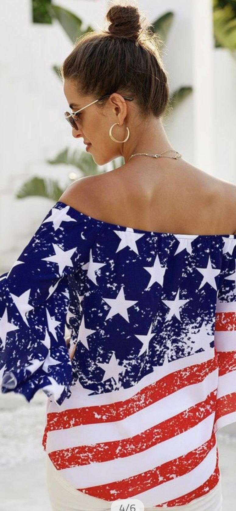 USA Baby Top