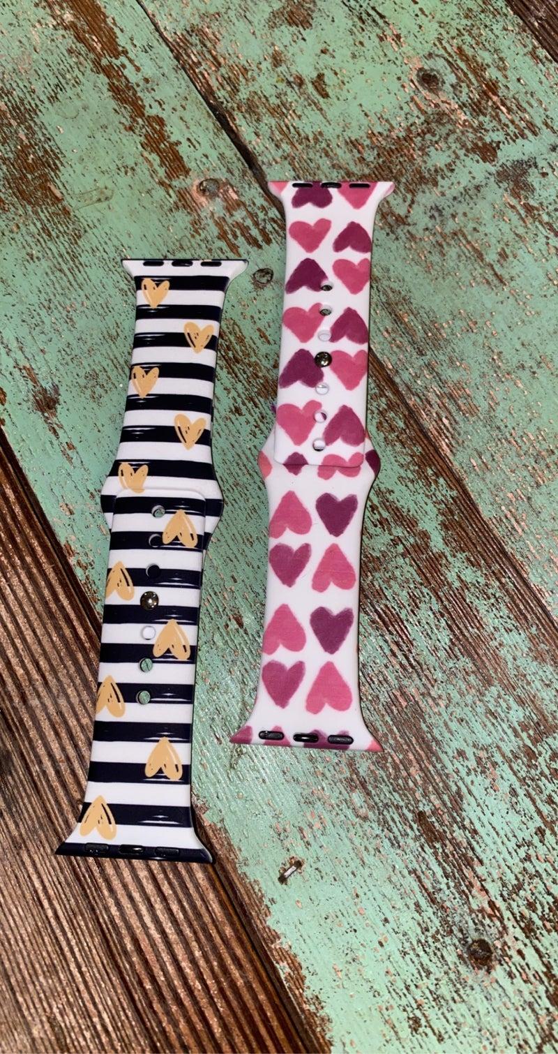 Valentine's watchbands