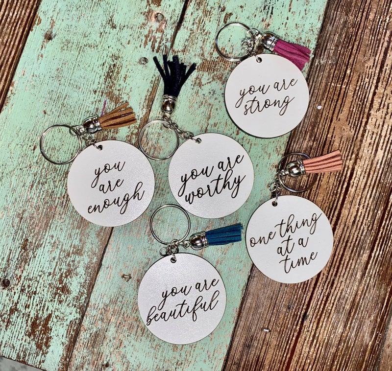 Inspirational Keychains