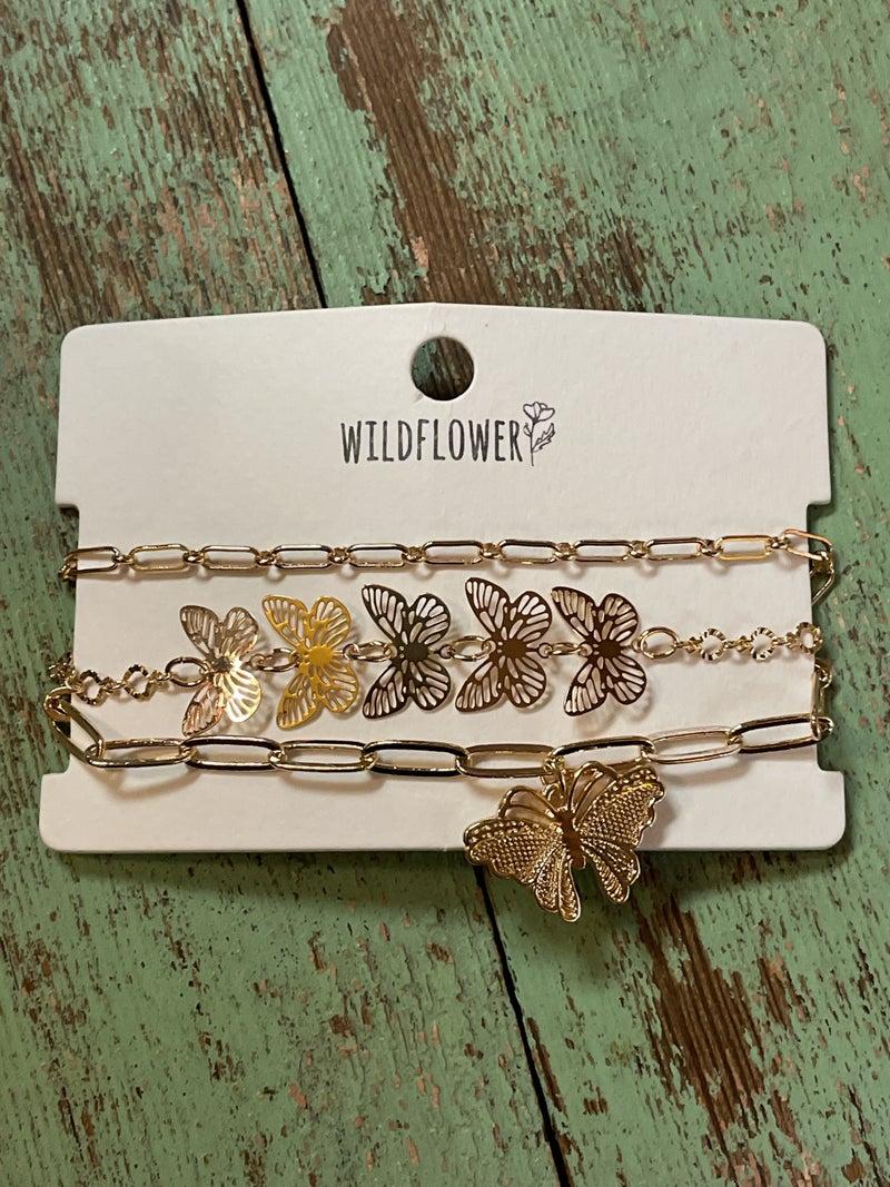 Butterfly Kisses Bracelet