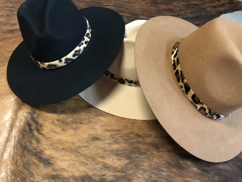 Animal Print CC  Fall Hats