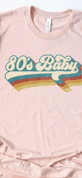 80's Baby Tee