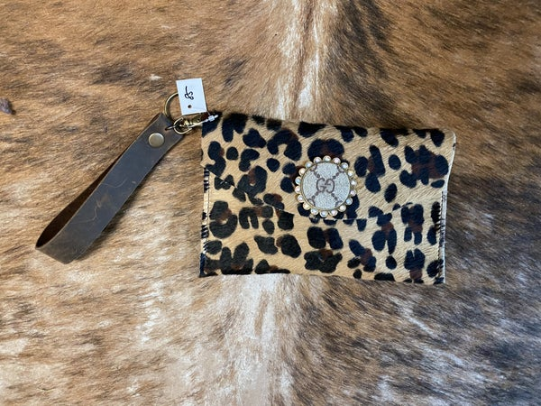 Upcycled Gucci Leopard