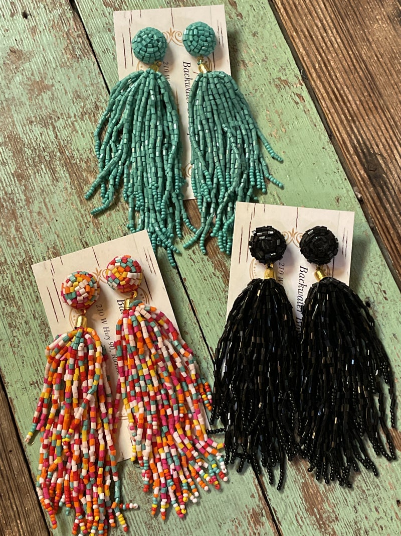 Tassel without the Hassle Earrings