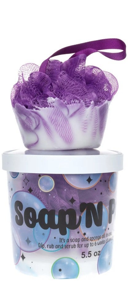 Soap N Pouf- All in One