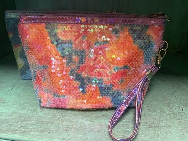 Tye Dye Wristlet Bag