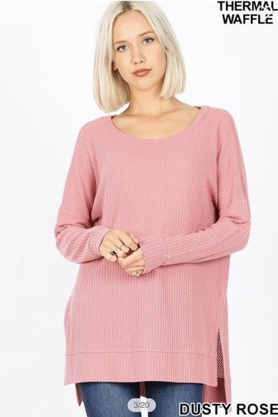 Hi-Lo Thermal Sweater