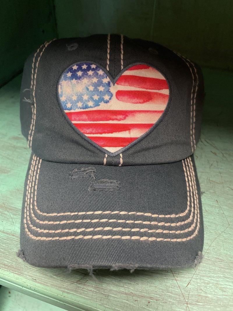 I ❤️USA  hat