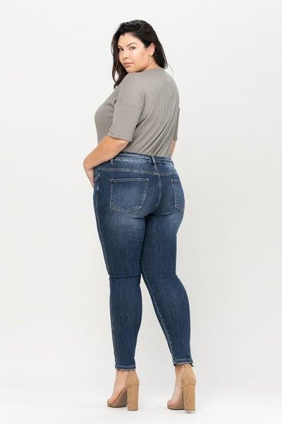 Curvy Girl Skinny Jeans
