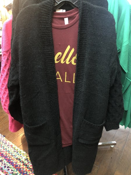 Long Sweater Cardigan