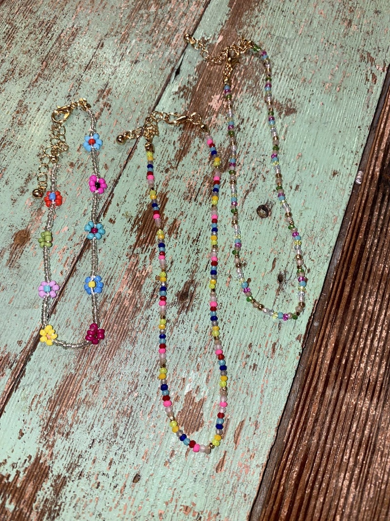 Colorful Anklets