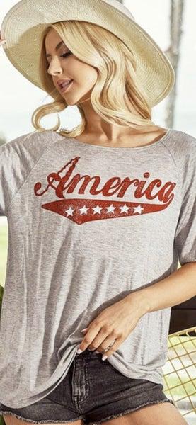 America Love T-shirt