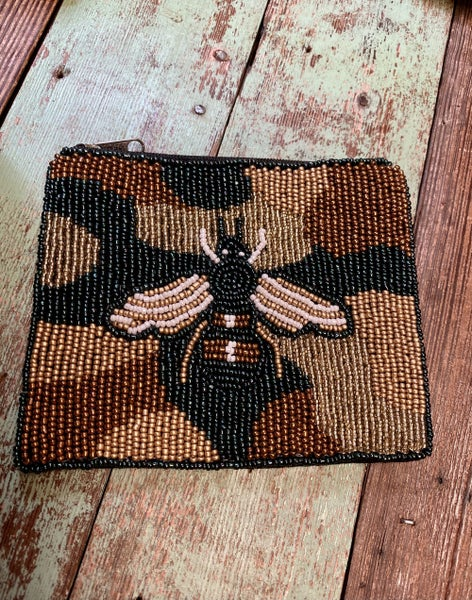 Bee Thrifty Coin Purse
