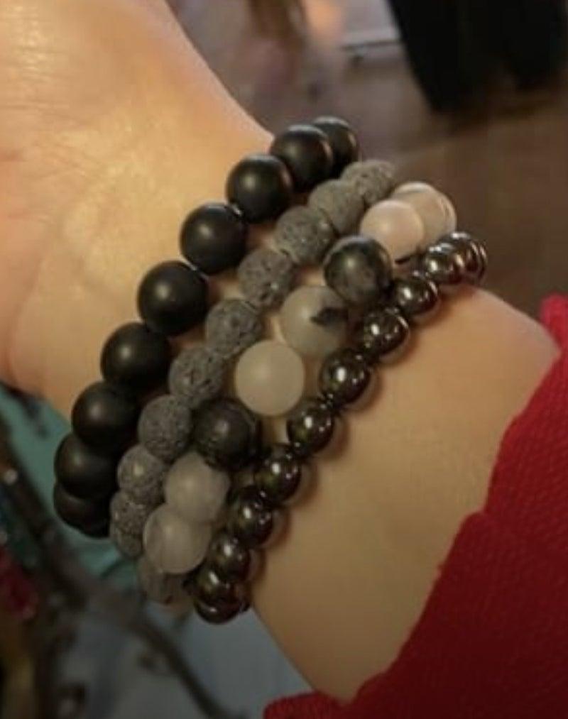 B3 Healing Stones Black Stack