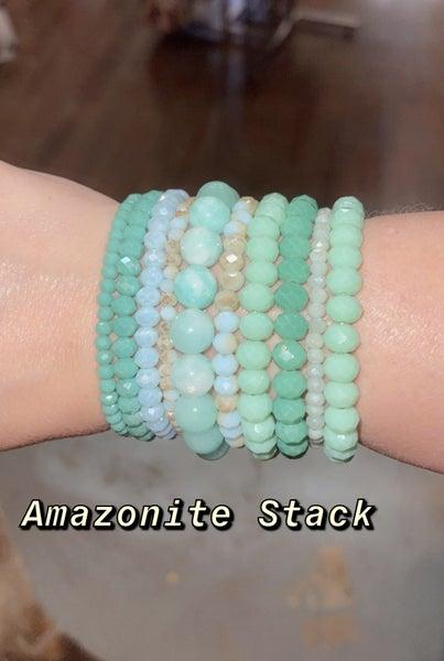 B3 Healing Stones Amazonite Stack