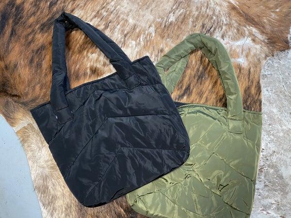 Puffy Messenger Bag