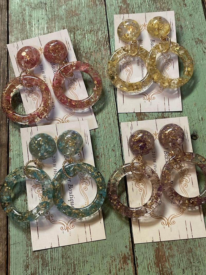 Ring of Spring Earrings