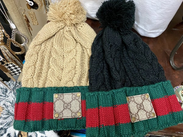 Upcycled Gucci Beanies