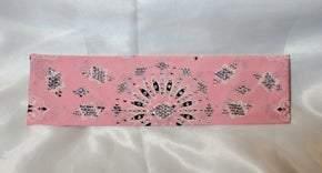 LeeAnnette Pink Paisley with Aurora Borealis Swarovski Crystals (Sku4217)