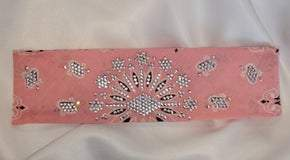 LeeAnnette Pink Paisley with Aurora Borealis Crystals (Sku4111)