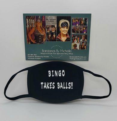 Face Mask Bingo  Takes Balls (Sku5948)