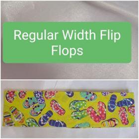 Flip Flops with Multiple Colors of Swarovski Crystals (Sku9962)