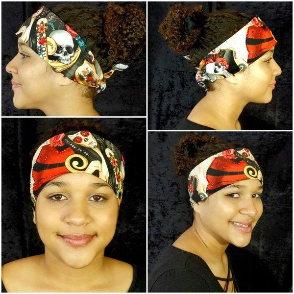 Black Hair Rose Tattoo Arm (Sku6104)
