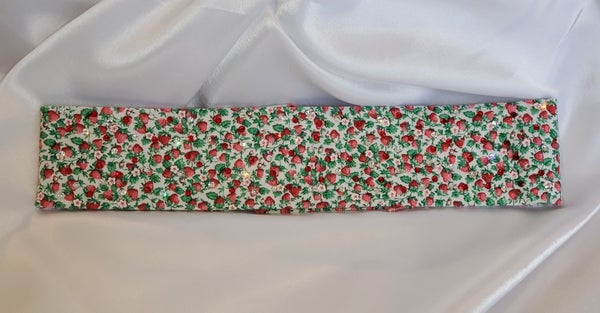 Strawberry Patch with Swarovski Crystals (Sku9877)