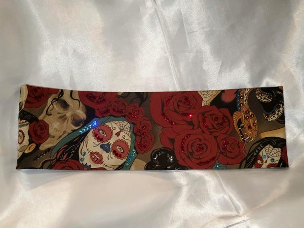 Rose Headdress Red Eye Nocturna (Sku6513)