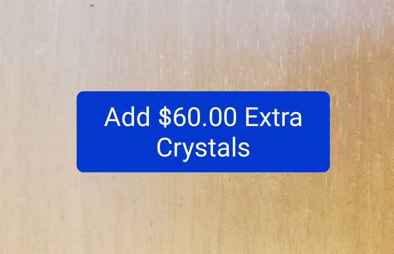 Add $60 of Bling to Product