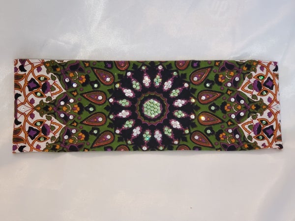 Green Indian with Light Green Crystals (Sku1303)