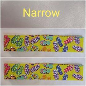 Narrow Flip Flops with Multiple Colors of Swarovski Crystals (Sku9963)