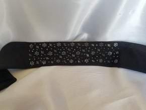 LeeAnnette Black Swarovski Crystals on Black (Sku4525)