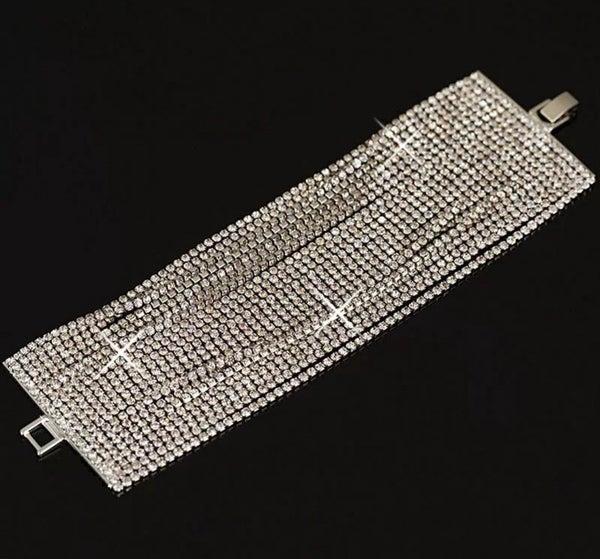22 Strand Austrian Crystal Bracelet (sku8307)