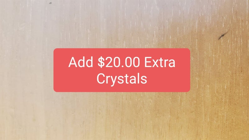 Add $20 of Bling to Product