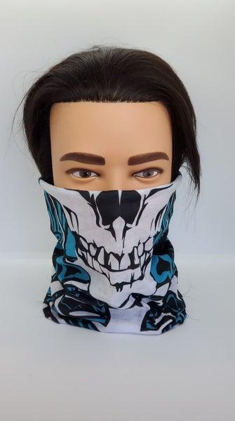 Tube Scarf Skeleton Face(Sku8503)
