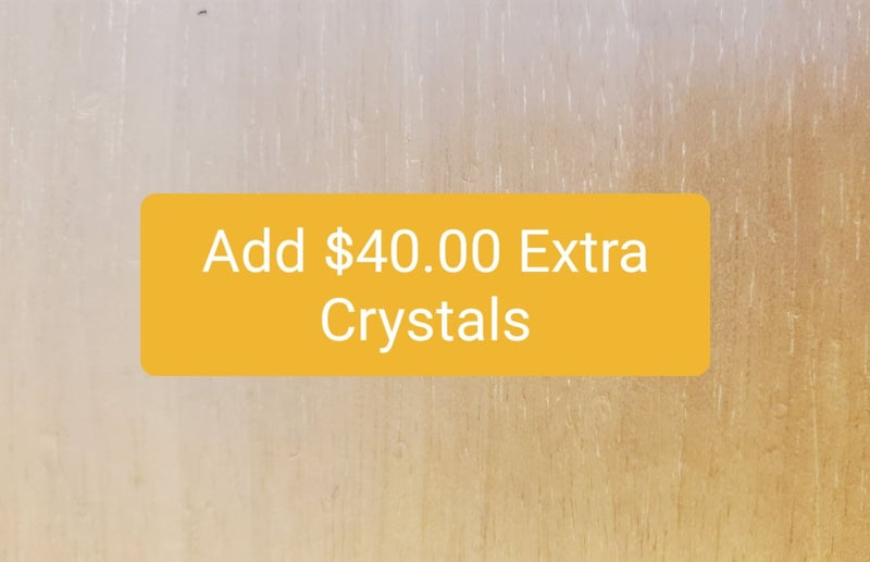 $40 of Bling added to Product