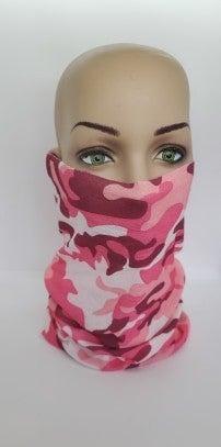Tube Scarf Camo Pink (Sku8521)