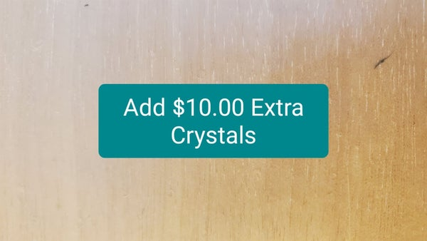 Add $10 of Crystals to Product