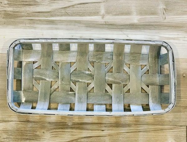 Rectangle Tobacco Basket