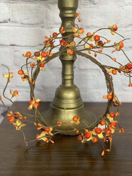 Autumn Flame Candle Ring