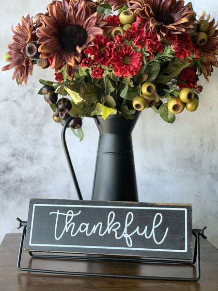 Thankful Table Top