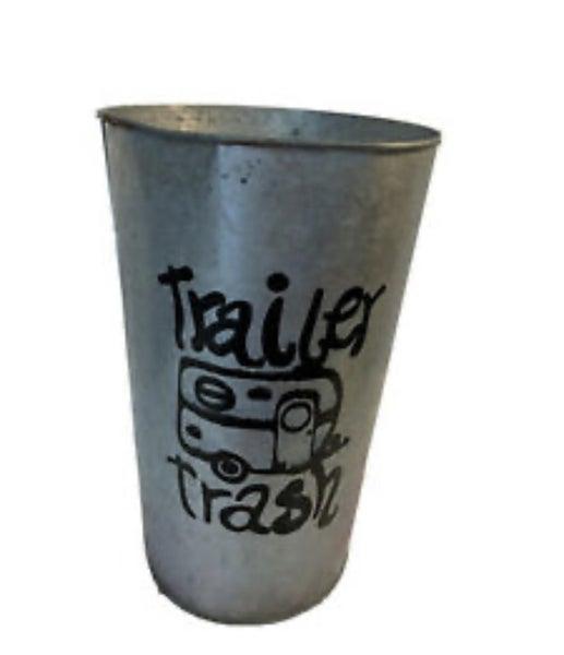 """""""Trailer Trash"""" Camper Trashcan"""